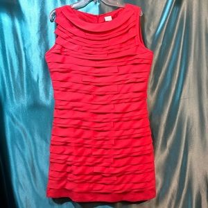NWT Suzy Shier tiered layered sleeveless dress